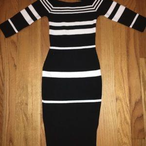 Shora Striped Fashion Nova Dress. NEW W/ TAGS